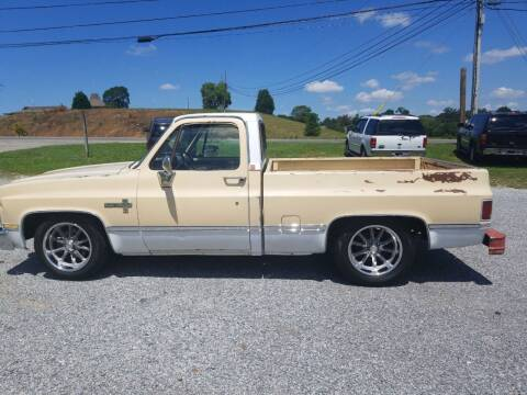 1984 Chevrolet C/K 10 Series for sale at CAR-MART AUTO SALES in Maryville TN