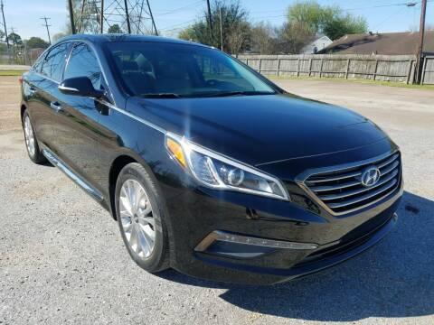 2015 Hyundai Sonata for sale at MOTORSPORTS IMPORTS in Houston TX