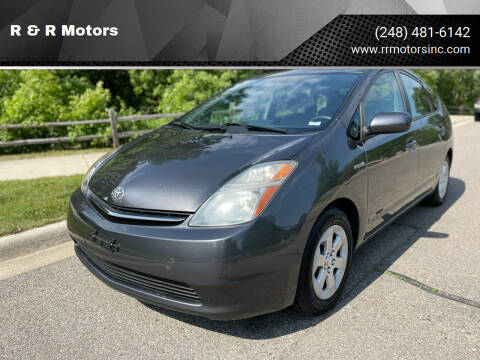 2008 Toyota Prius for sale at R & R Motors in Waterford MI