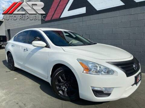 2015 Nissan Altima for sale at Auto Republic Fullerton in Fullerton CA