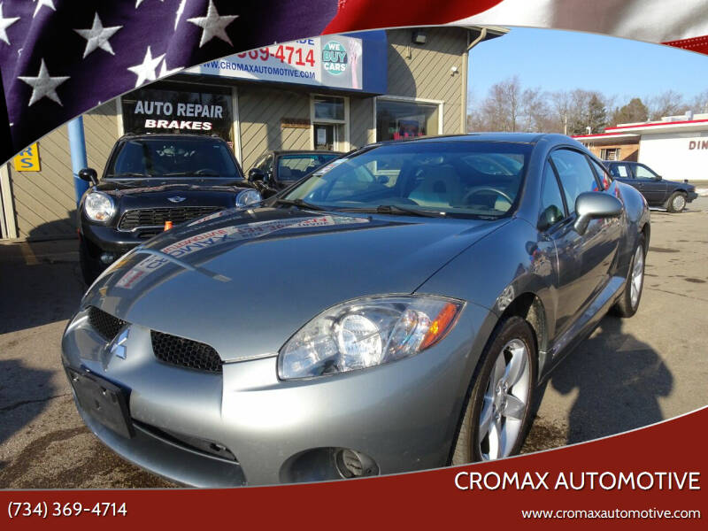 2007 Mitsubishi Eclipse for sale at Cromax Automotive in Ann Arbor MI