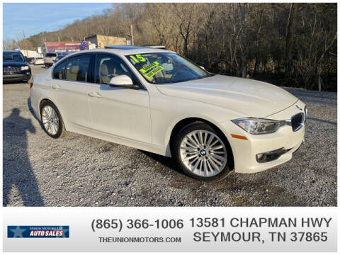 2015 BMW 3 Series for sale at Union Motors in Seymour TN