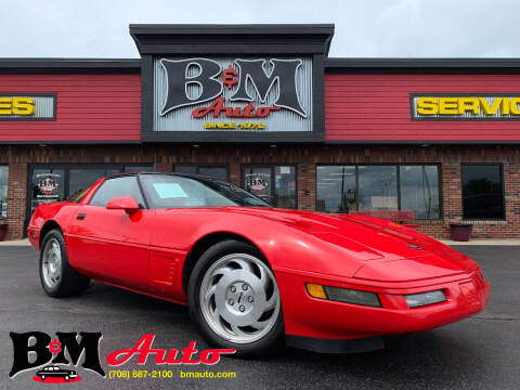 1996 Chevrolet Corvette for sale at B & M Auto Sales Inc. in Oak Forest IL