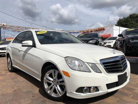 2010 Mercedes-Benz E-Class for sale at Cars of Tampa in Tampa FL