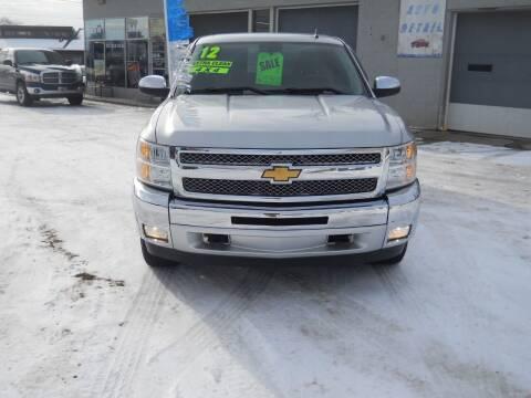 2012 Chevrolet Silverado 1500 for sale at Shaw Motor Sales in Kalkaska MI