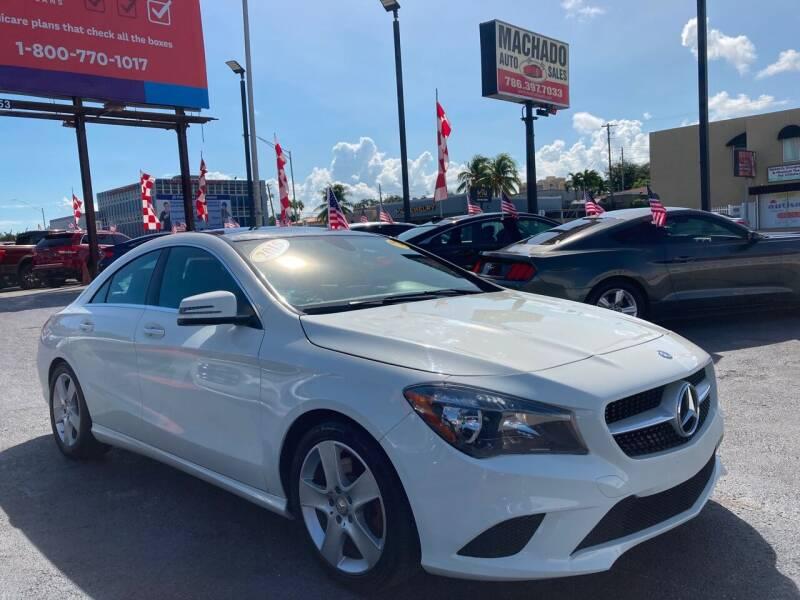 2015 Mercedes-Benz CLA for sale at MACHADO AUTO SALES in Miami FL