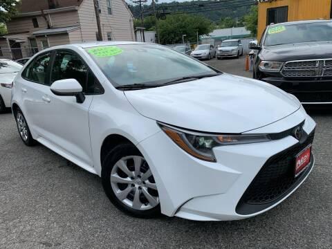 2020 Toyota Corolla for sale at Auto Universe Inc. in Paterson NJ