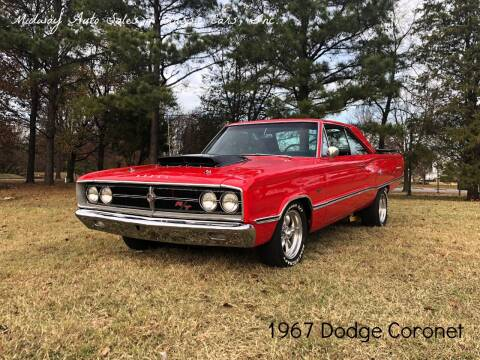 1967 Dodge Coronet for sale at MIDWAY AUTO SALES & CLASSIC CARS INC in Fort Smith AR