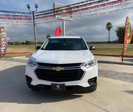 2020 Chevrolet Traverse for sale at A & V MOTORS in Hidalgo TX