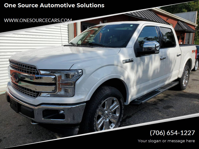 2019 Ford F-150 for sale at One Source Automotive Solutions in Braselton GA