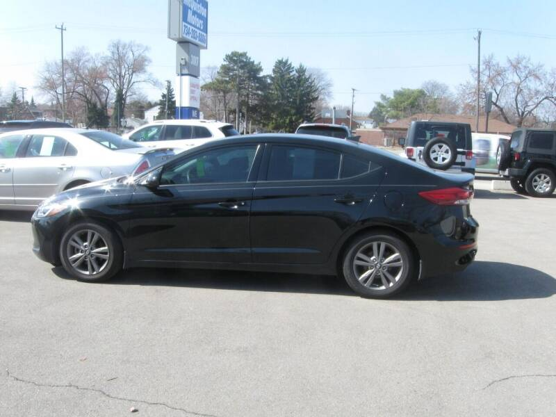 2018 Hyundai Elantra for sale at MCQUISTON MOTORS in Wyandotte MI