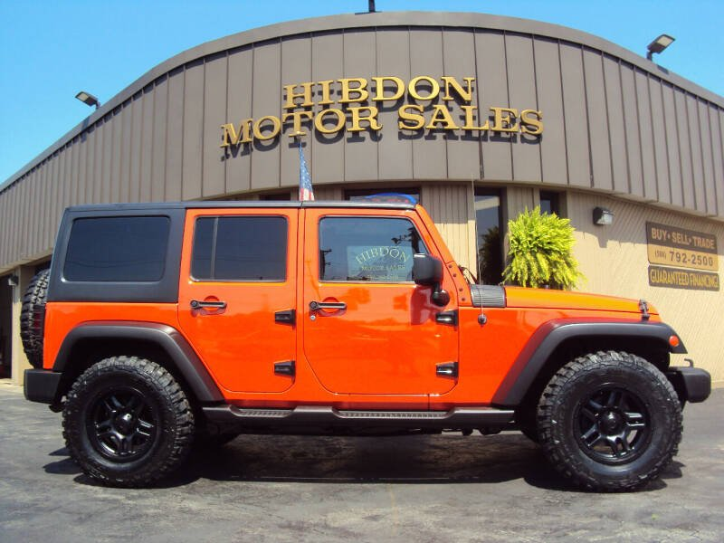 2015 Jeep Wrangler Unlimited for sale at Hibdon Motor Sales in Clinton Township MI