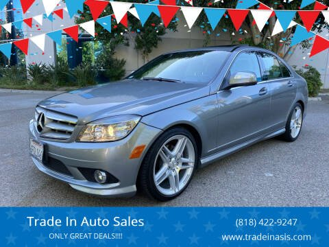 2009 Mercedes-Benz C-Class for sale at Trade In Auto Sales in Van Nuys CA