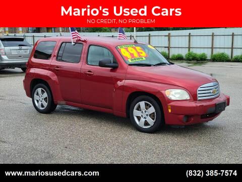 2010 Chevrolet HHR for sale at Mario's Used Cars - Pasadena Location in Pasadena TX