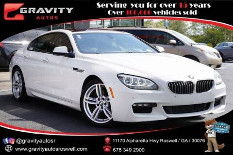 2014 BMW 6 Series for sale at Gravity Autos Roswell in Roswell GA