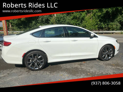 2015 Chrysler 200 for sale at Roberts Rides LLC in Franklin OH