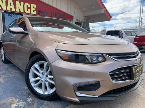 2018 Chevrolet Malibu for sale at Caspian Auto Sales in Oklahoma City OK