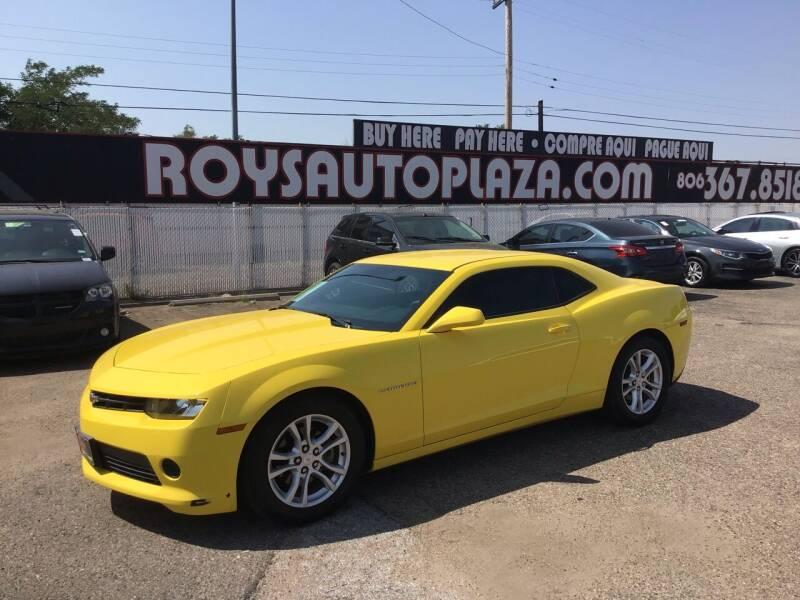 2015 Chevrolet Camaro for sale at Roy's Auto Plaza 2 in Amarillo TX