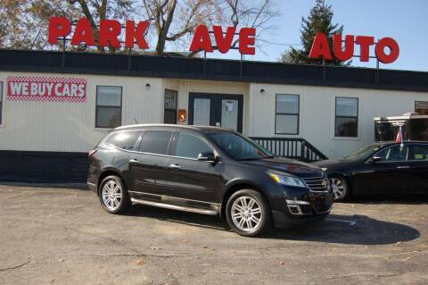 2014 Chevrolet Traverse for sale at Park Ave Auto Inc. in Worcester MA