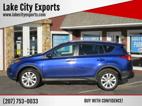 2015 Toyota RAV4 for sale at Lake City Exports - Lewiston in Lewiston ME