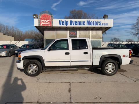 2006 GMC Sierra 1500 for sale at Velp Avenue Motors LLC in Green Bay WI