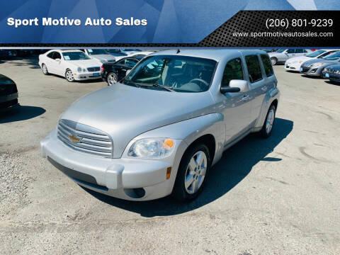 2010 Chevrolet HHR for sale at Sport Motive Auto Sales in Seattle WA