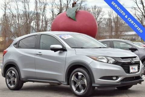 2018 Honda HR-V for sale at APPLE HONDA in Riverhead NY