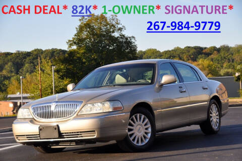 2004 Lincoln Town Car for sale at T CAR CARE INC in Philadelphia PA