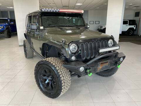 2015 Jeep Wrangler Unlimited for sale at Auto Mall of Springfield in Springfield IL