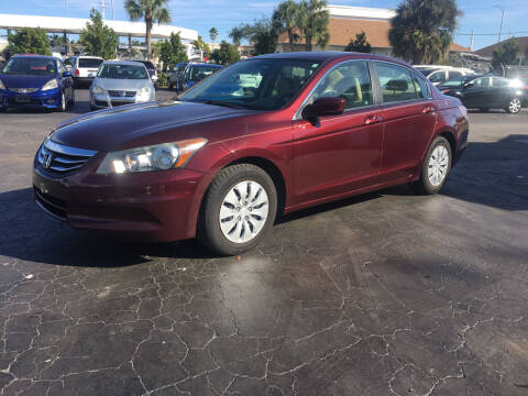 2011 Honda Accord for sale at CAR-RIGHT AUTO SALES INC in Naples FL