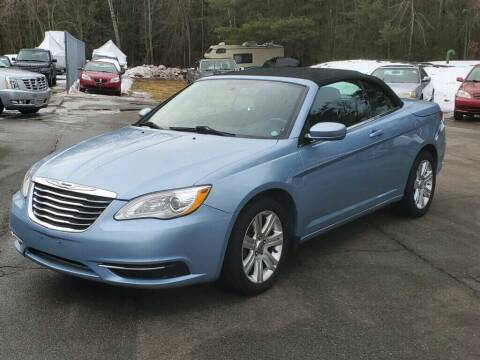 2012 Chrysler 200 Convertible for sale at Pelham Auto Group in Pelham NH