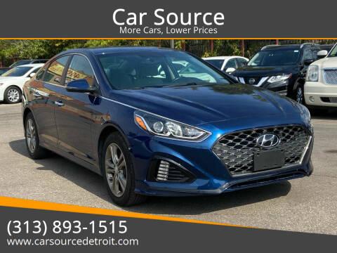 2019 Hyundai Sonata for sale at Car Source in Detroit MI