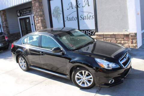2014 Subaru Legacy for sale at A&A Auto Sales in Orem UT