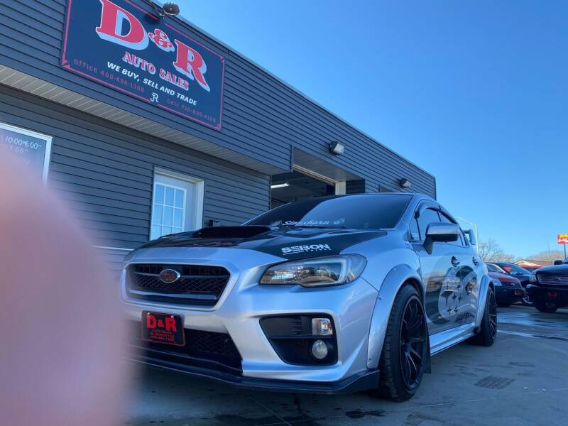2016 Subaru WRX for sale at D & R Auto Sales in South Sioux City NE