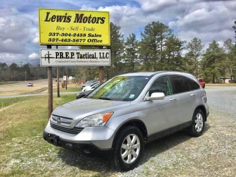 2009 Honda CR-V for sale at Lewis Motors LLC in Deridder LA