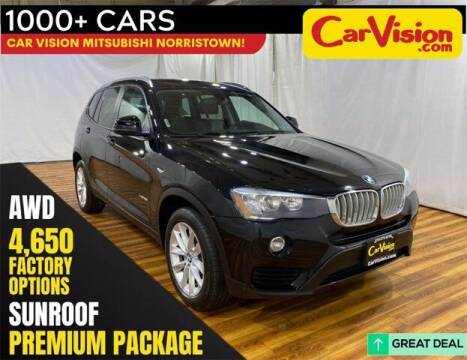 2017 BMW X3 for sale at Car Vision Buying Center in Norristown PA
