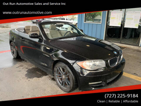 2009 BMW 1 Series for sale at Out Run Automotive Sales and Service Inc in Tampa FL