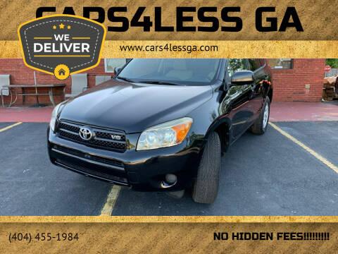 2007 Toyota RAV4 for sale at Cars4Less GA in Alpharetta GA