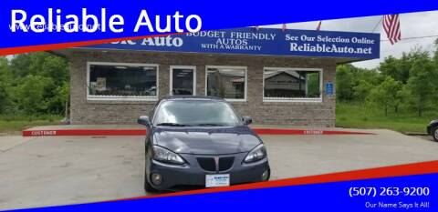 2008 Pontiac Grand Prix for sale at Reliable Auto in Cannon Falls MN