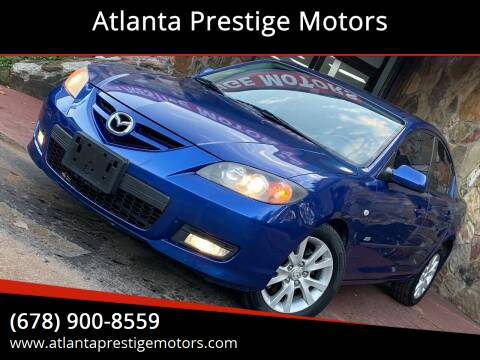 2008 Mazda MAZDA3 for sale at Atlanta Prestige Motors in Decatur GA