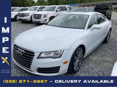 2012 Audi A7 for sale at Impex Auto Sales in Greensboro NC