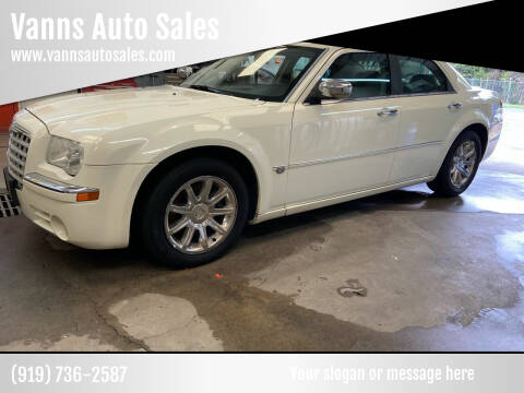 2005 Chrysler 300 for sale at Vanns Auto Sales in Goldsboro NC
