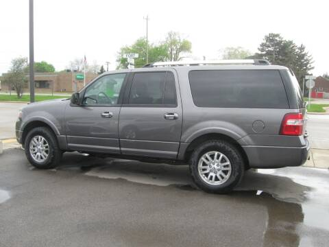 2012 Ford Expedition EL for sale at MCQUISTON MOTORS in Wyandotte MI