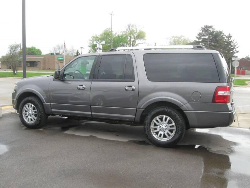 2012 Ford Expedition EL for sale at MCQUISTON MOTORS in Wyandotte MI