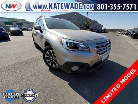 2017 Subaru Outback for sale at NATE WADE SUBARU in Salt Lake City UT