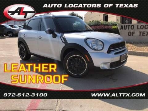 2015 MINI Countryman for sale at AUTO LOCATORS OF TEXAS in Plano TX