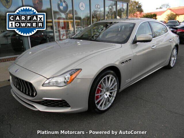 2017 Maserati Quattroporte for sale at Platinum Motorcars in Warrenton VA