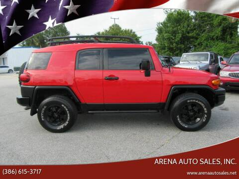 2012 Toyota FJ Cruiser for sale at ARENA AUTO SALES,  INC. in Holly Hill FL