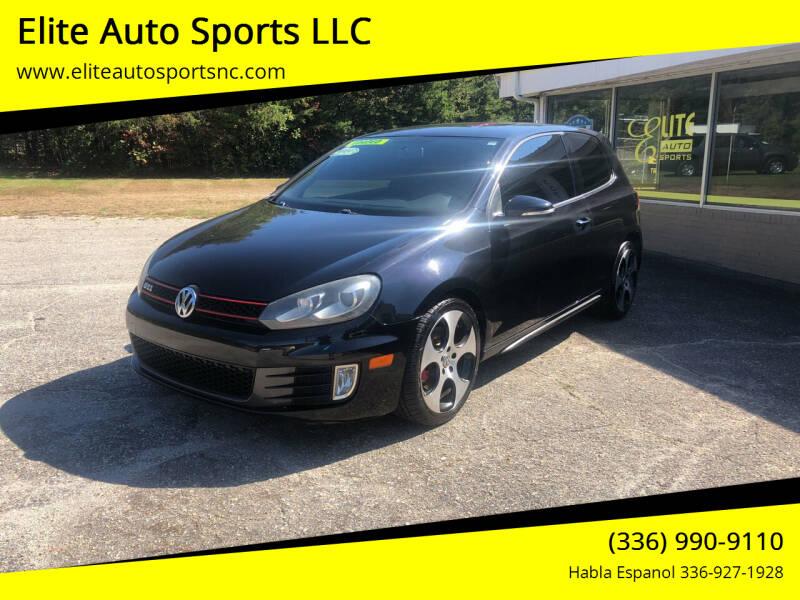 2010 Volkswagen GTI for sale at Elite Auto Sports LLC in Wilkesboro NC