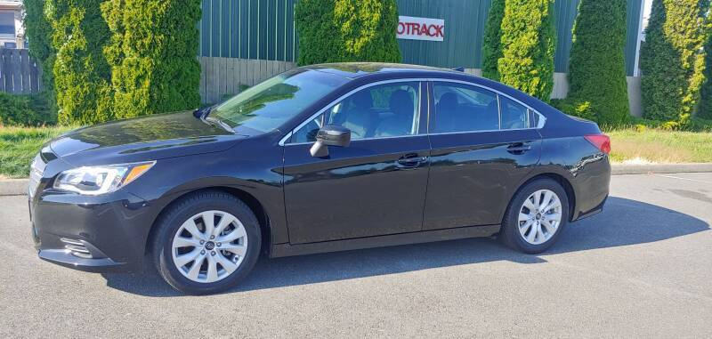 2017 Subaru Legacy for sale at AUTOTRACK INC in Mount Vernon WA